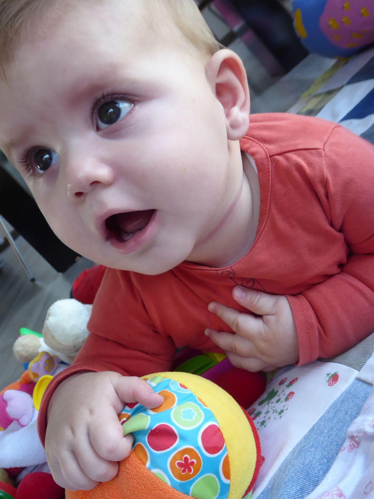6 mois pour mon petit Gaspard!