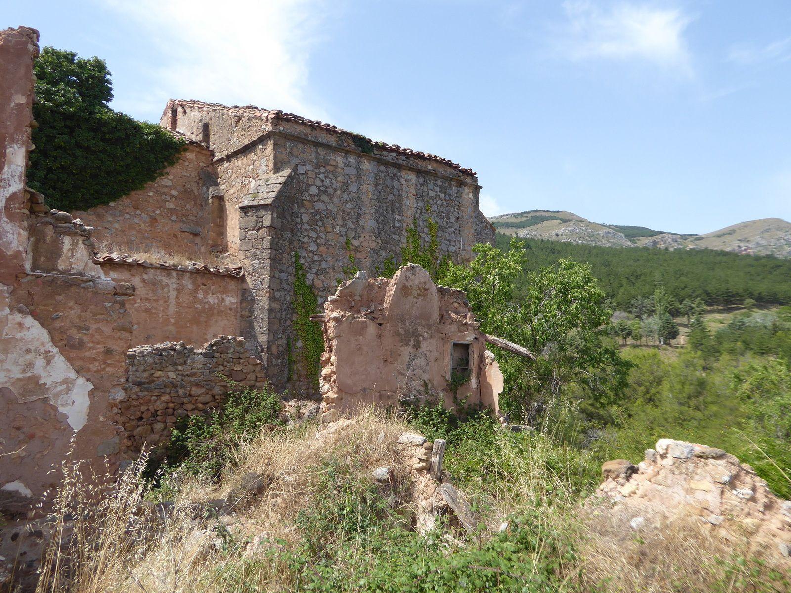 Espagne 2019 #8 Turruncun village fantôme