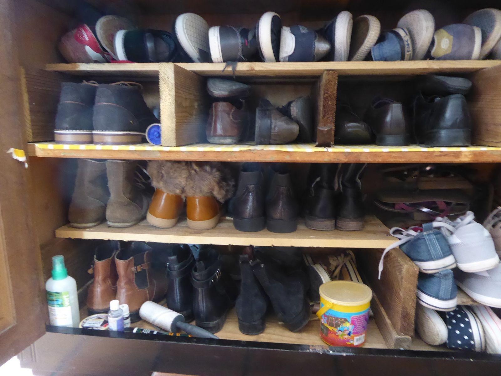 Le meuble à chaussures