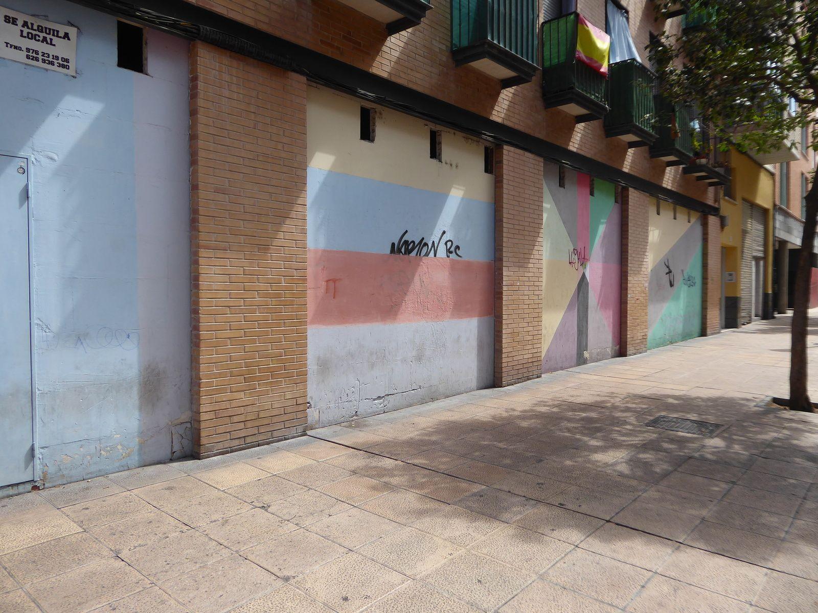 Espagne 2019 #22 Saragosse street art