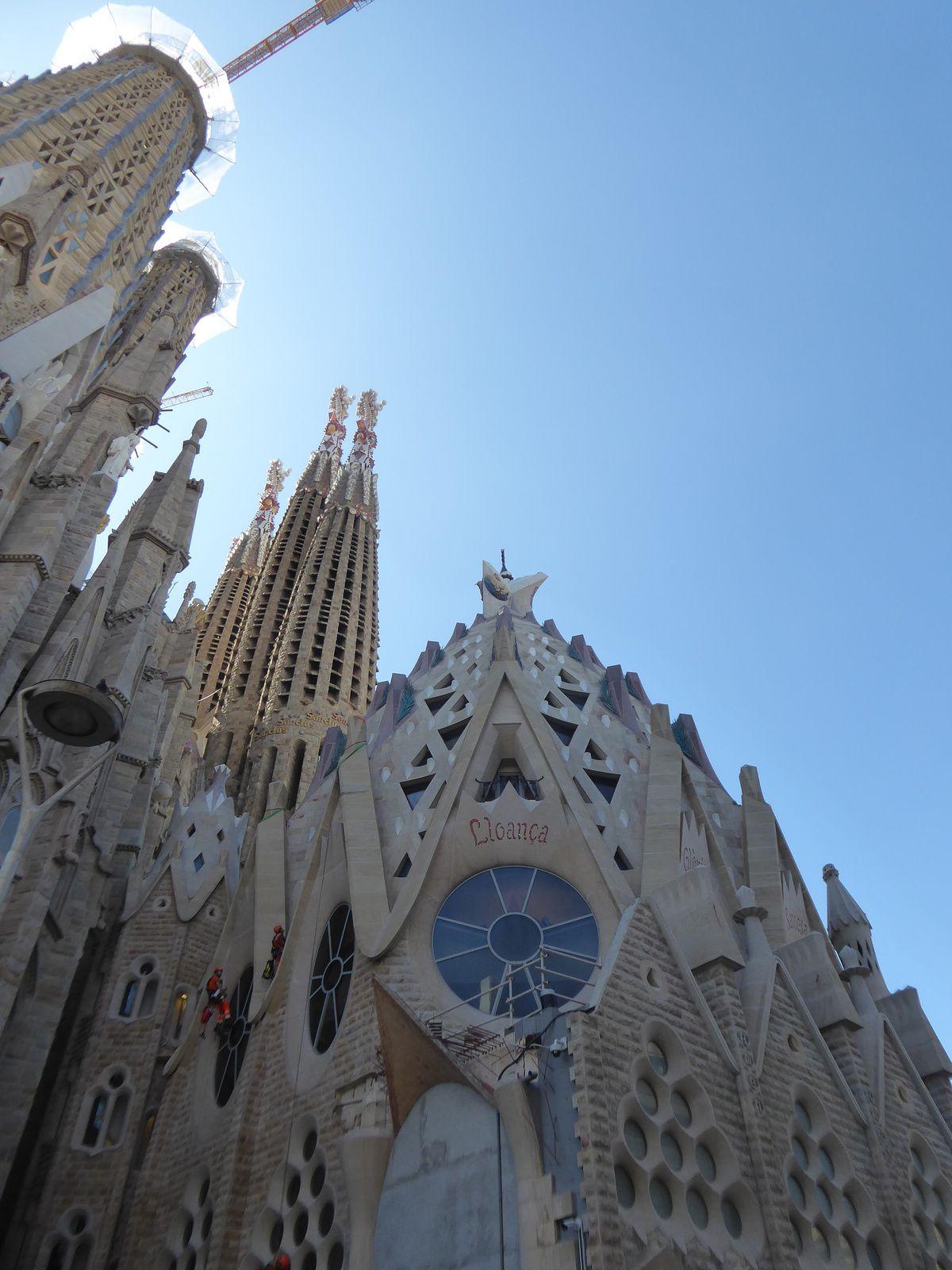 Espagne 2019 #24 Barcelone, La Sagrada Familia