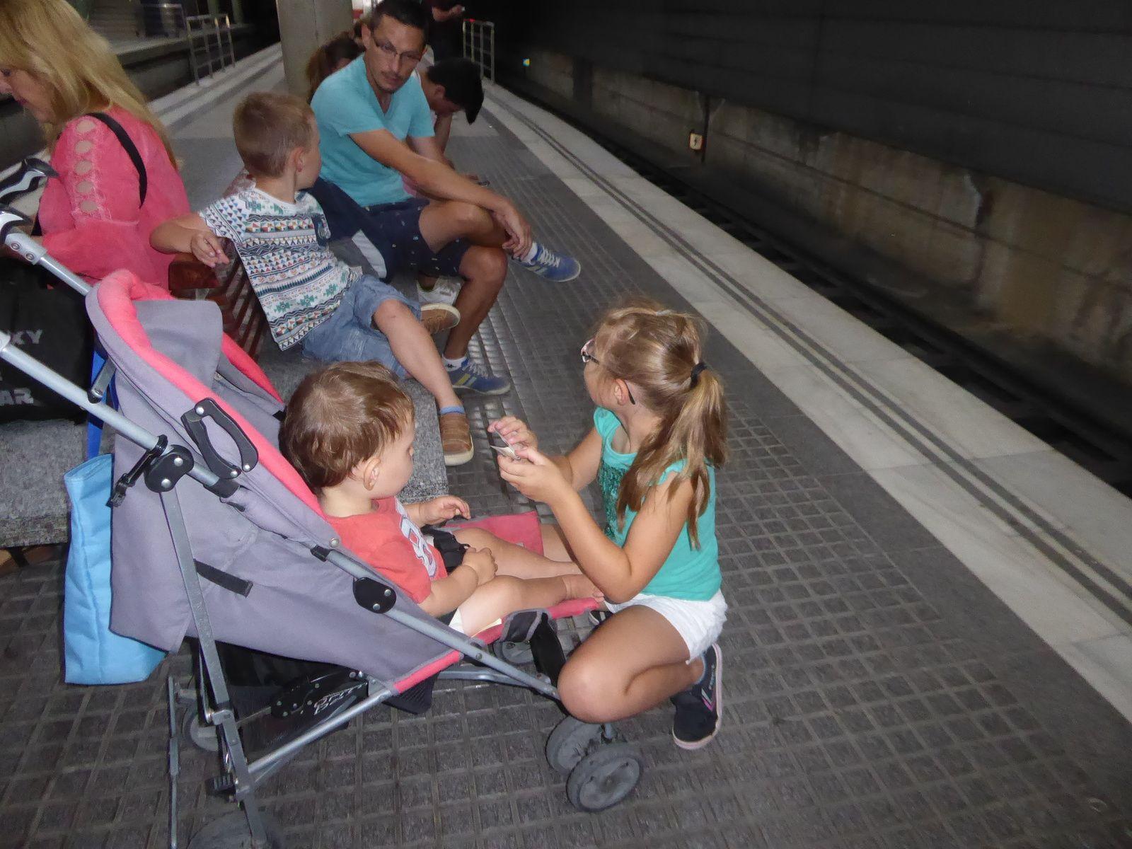 Espagne 2019 #25 Barcelone le métro