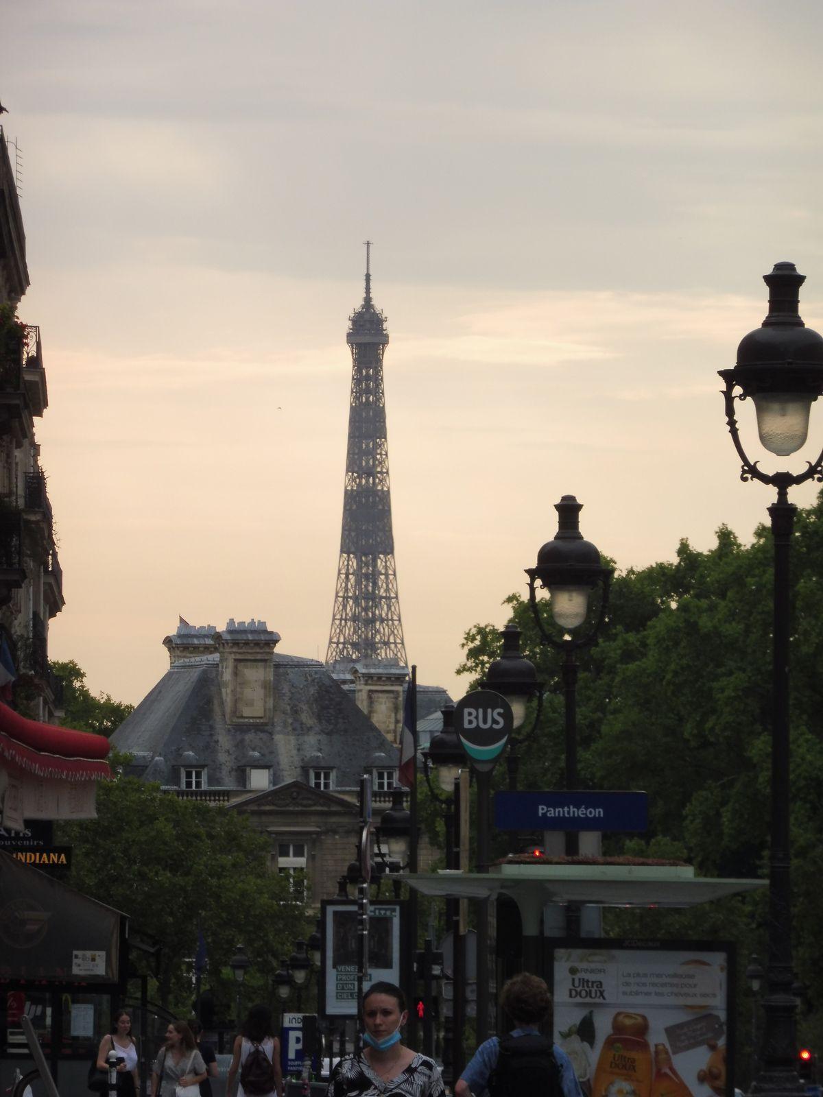 Etape 3 des vacances: PARIS