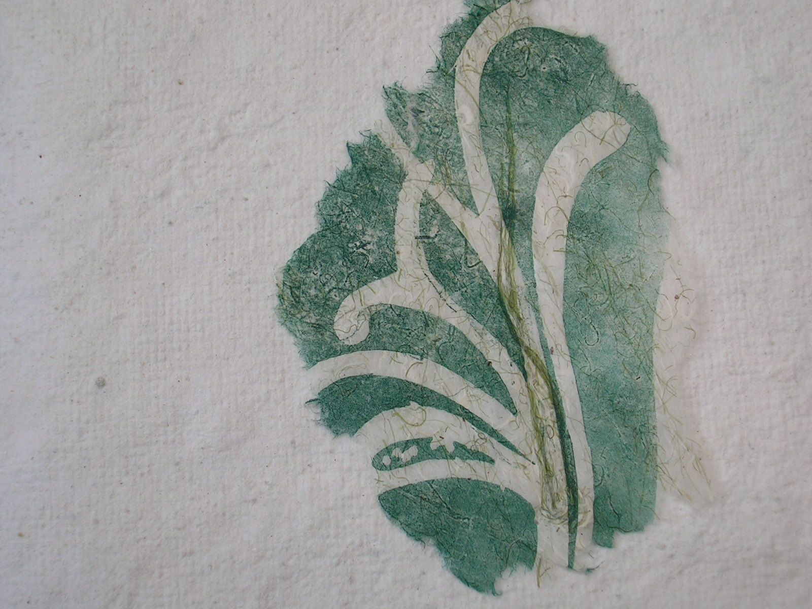 Gravures de dentelles sur feuilles squelettes réalisées à l'atelier Brito à Pipriac 35