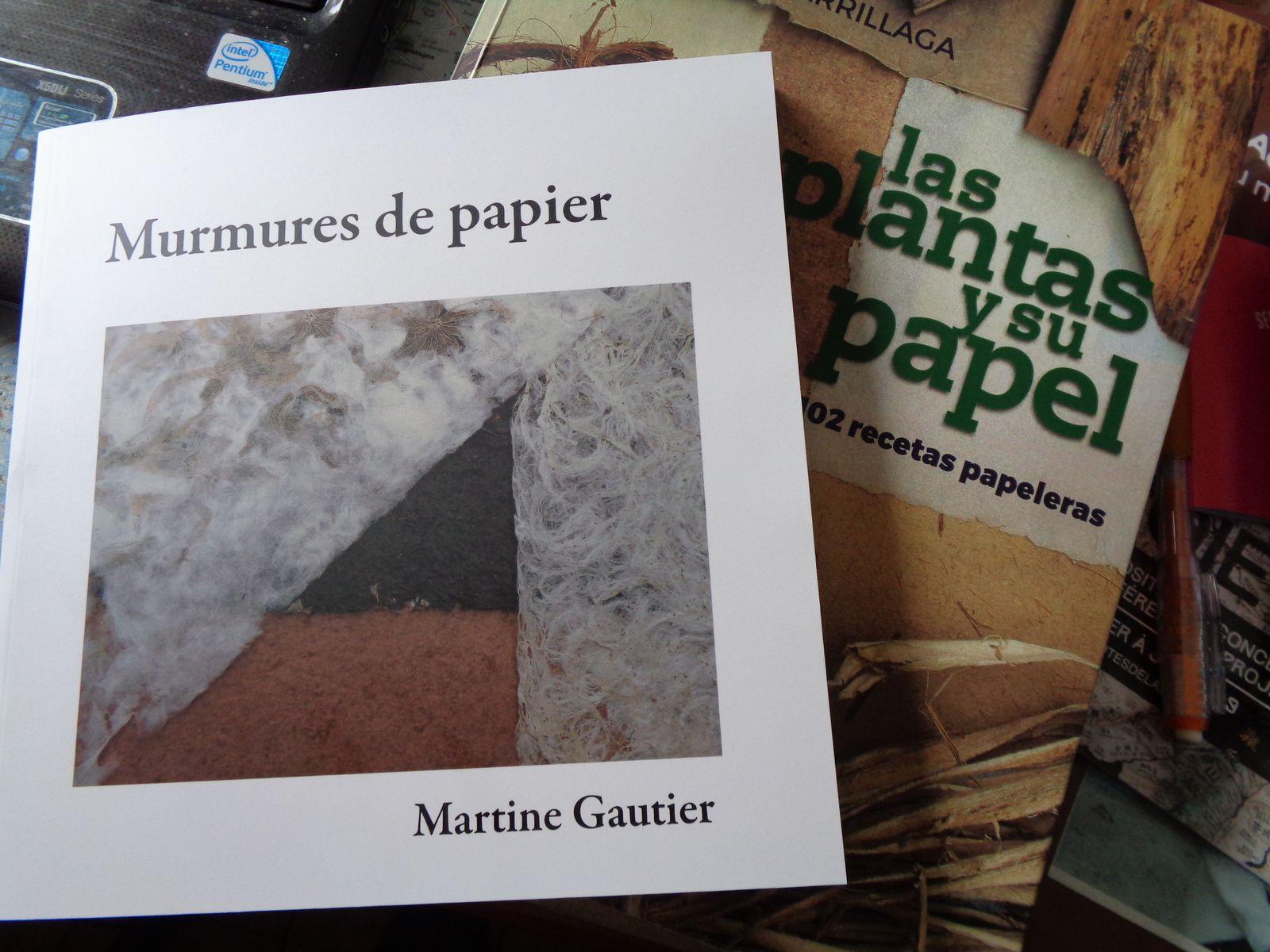 """Cet ouvrage est en espagnol , mais avec un peu de persévérance on y arrive ,c'est le plus sérieux le plus documenté sur le papier végétal , il a 102 échantillons de papier , classés par tiges, feuilles, plantes entières, écorces.... Dans l'édition de mon livre """"murmures de papier """" il ne figure pas par erreur dans la bibliographie , un bug de dernière minute, je l'ai reçu très peu de temps avant le bouclage du livre , l'info a mal suivi."""