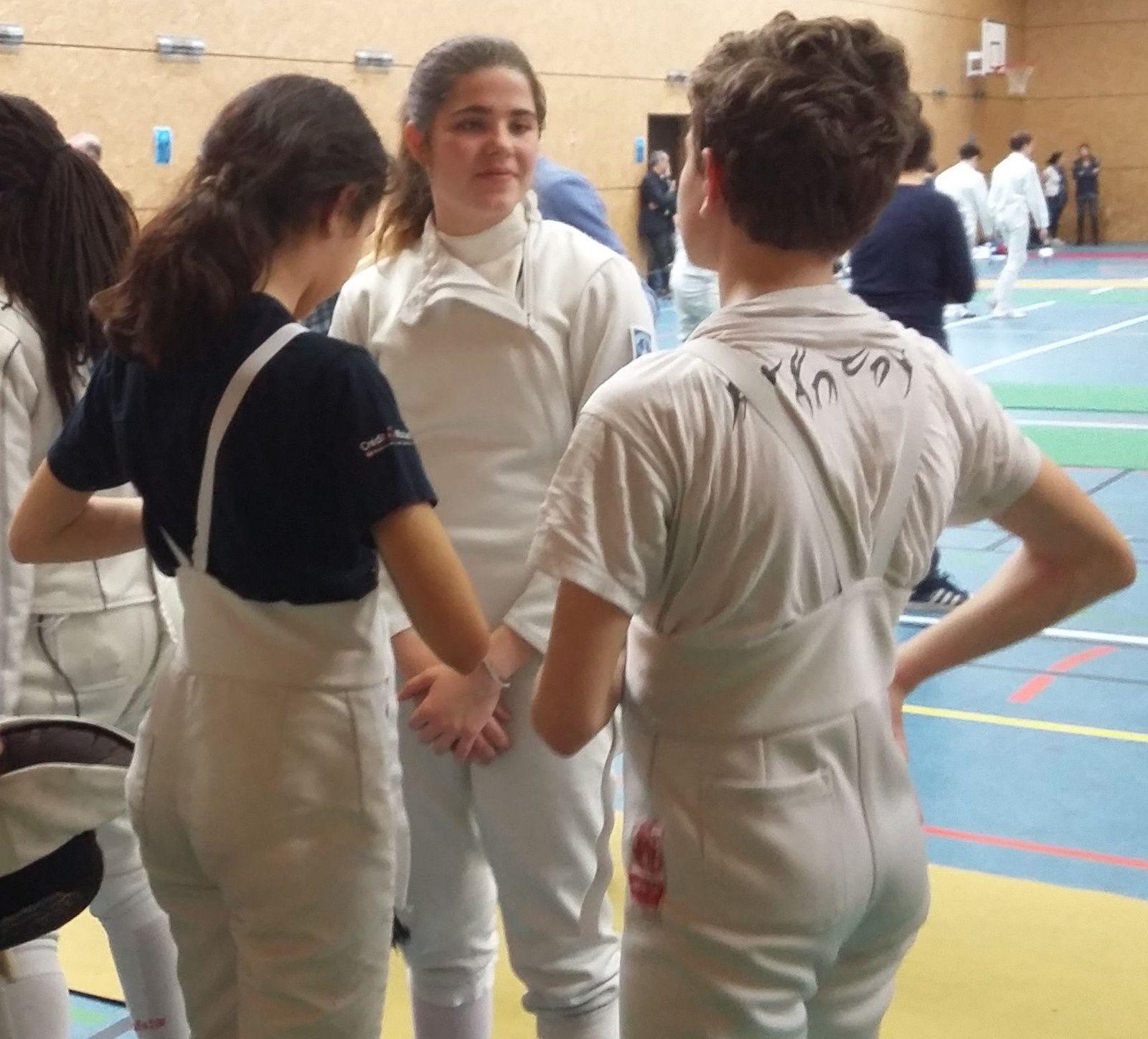 7 et 8 avril - Livry-Gargan et Aubières : 4 premières places