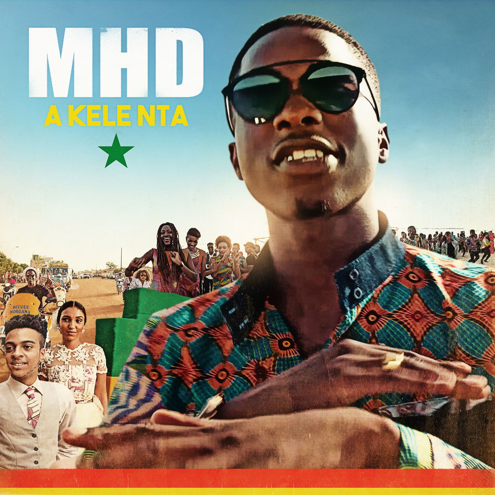 artwork covers single MHD - a kele nta / la puissance