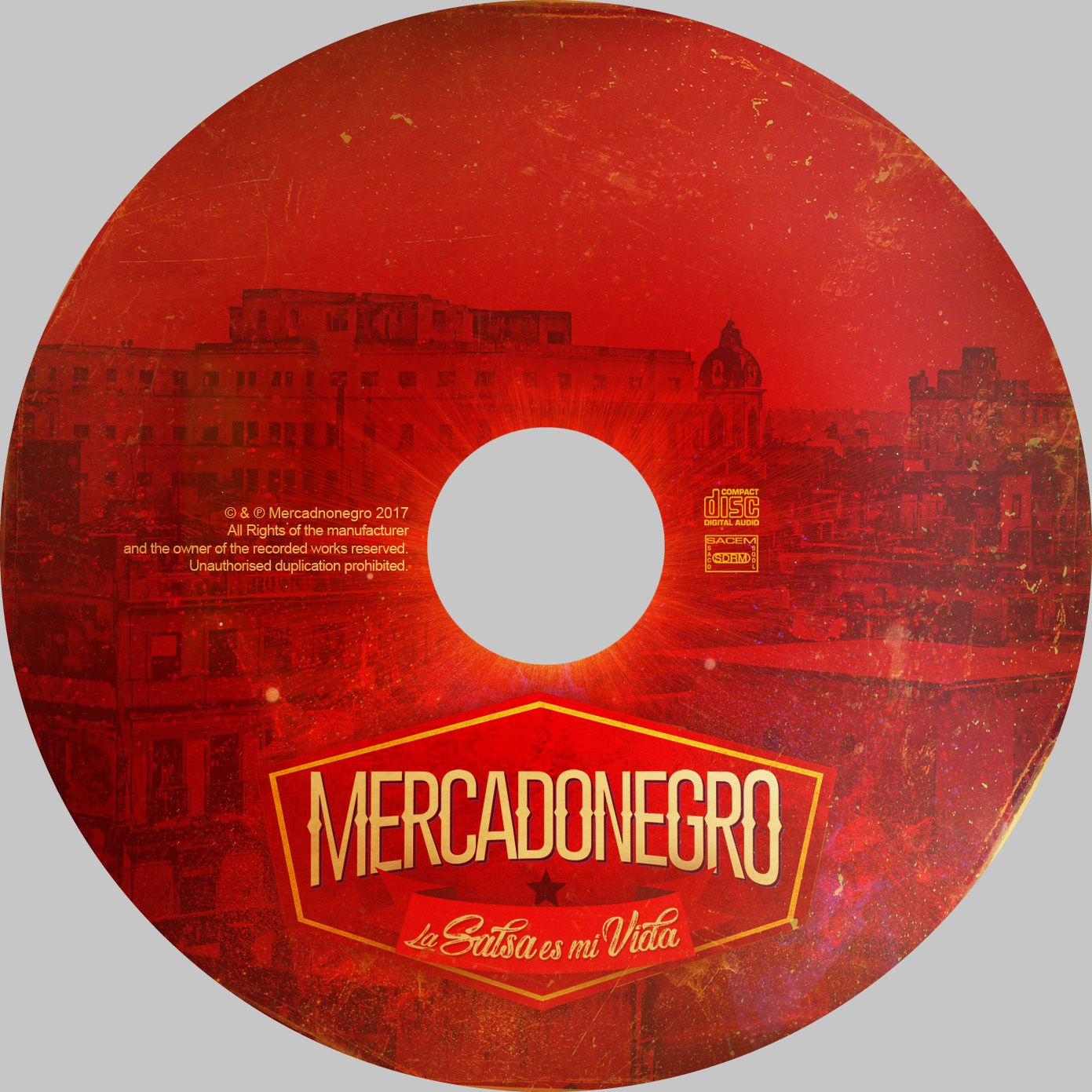 artwork album MERCADONEGRO