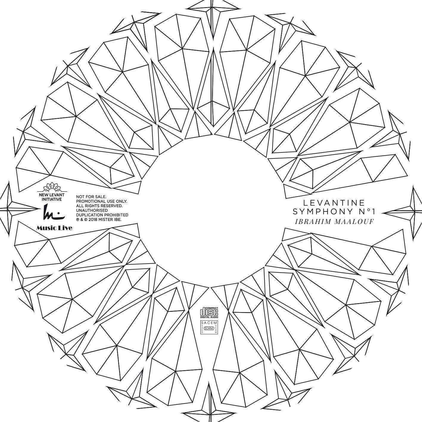 Ibrahim Maalouf - artwork  Levantine Symphony N° 1