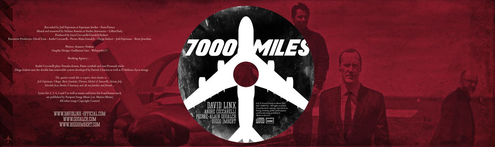 David Linx - 7000 Miles / The WordSmith