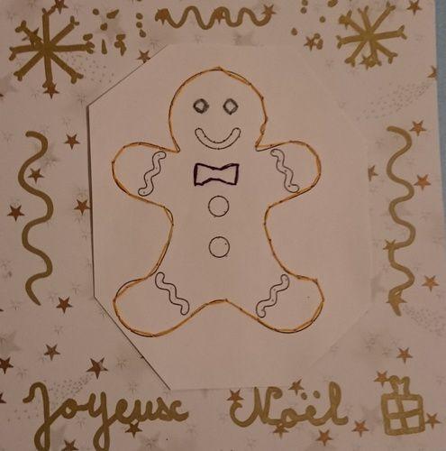 Ecole- Broderie de Noël- Décembre 2016
