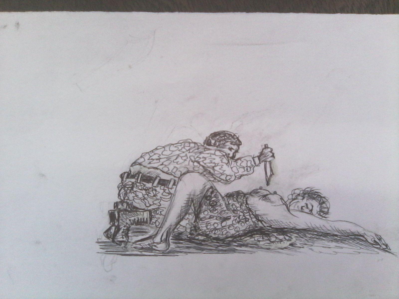 Femme douce, femme des champs, femme des rivières, femme battue, violentée, violée.......