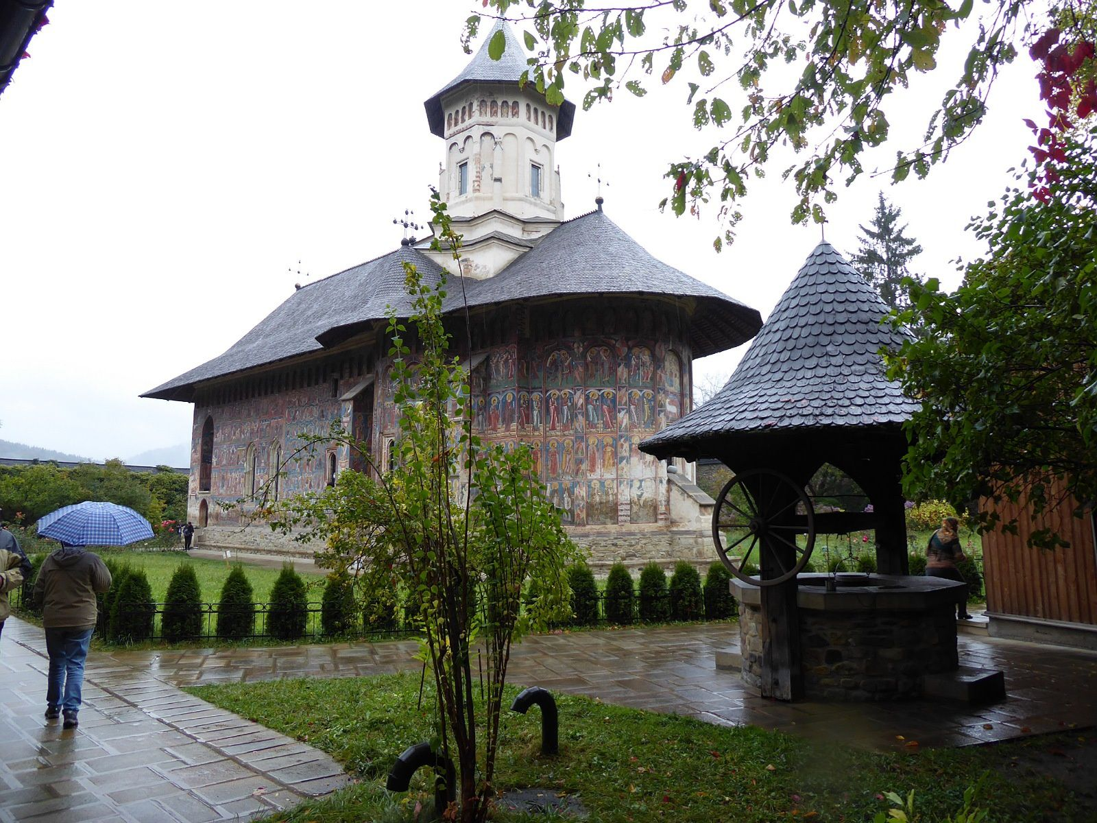 Route vers le Maramures