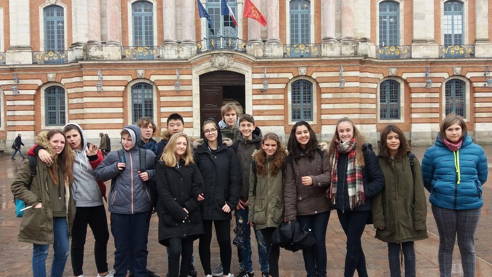 """Deuxième jour: Toulouse - collège """"Pierre de Fermat"""""""