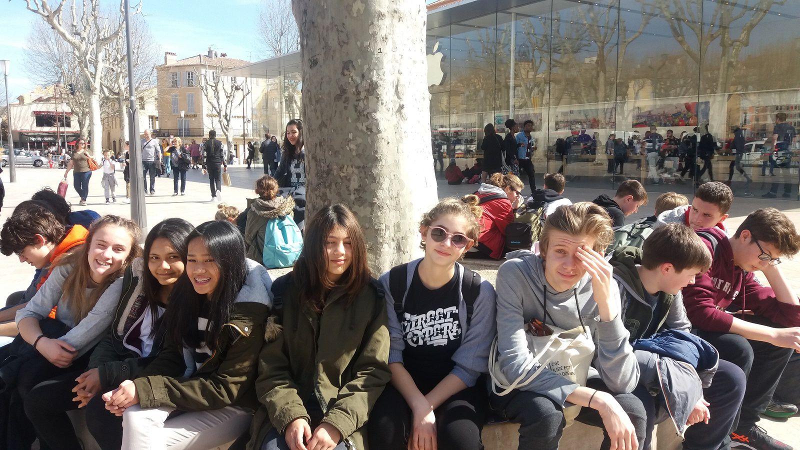 Sixième jour: Aix-en-Provence