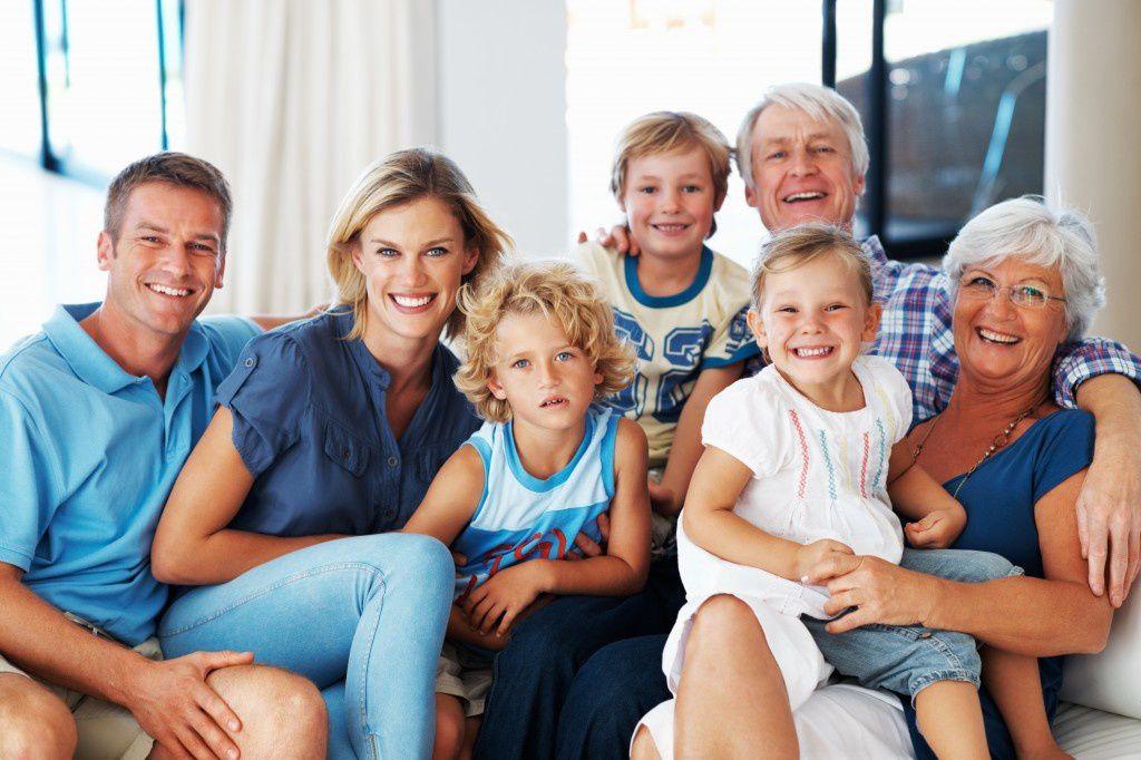 Le caractère et la famille