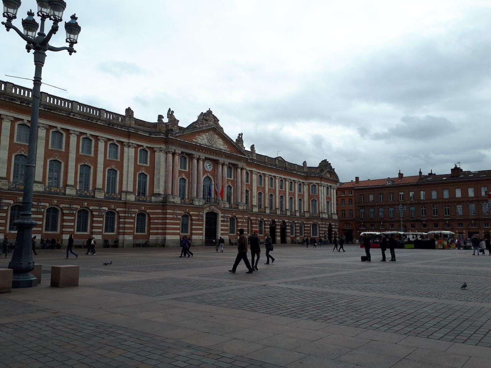 """Deuxième journée: Toulouse - collège """"Pierre de Fermat"""""""