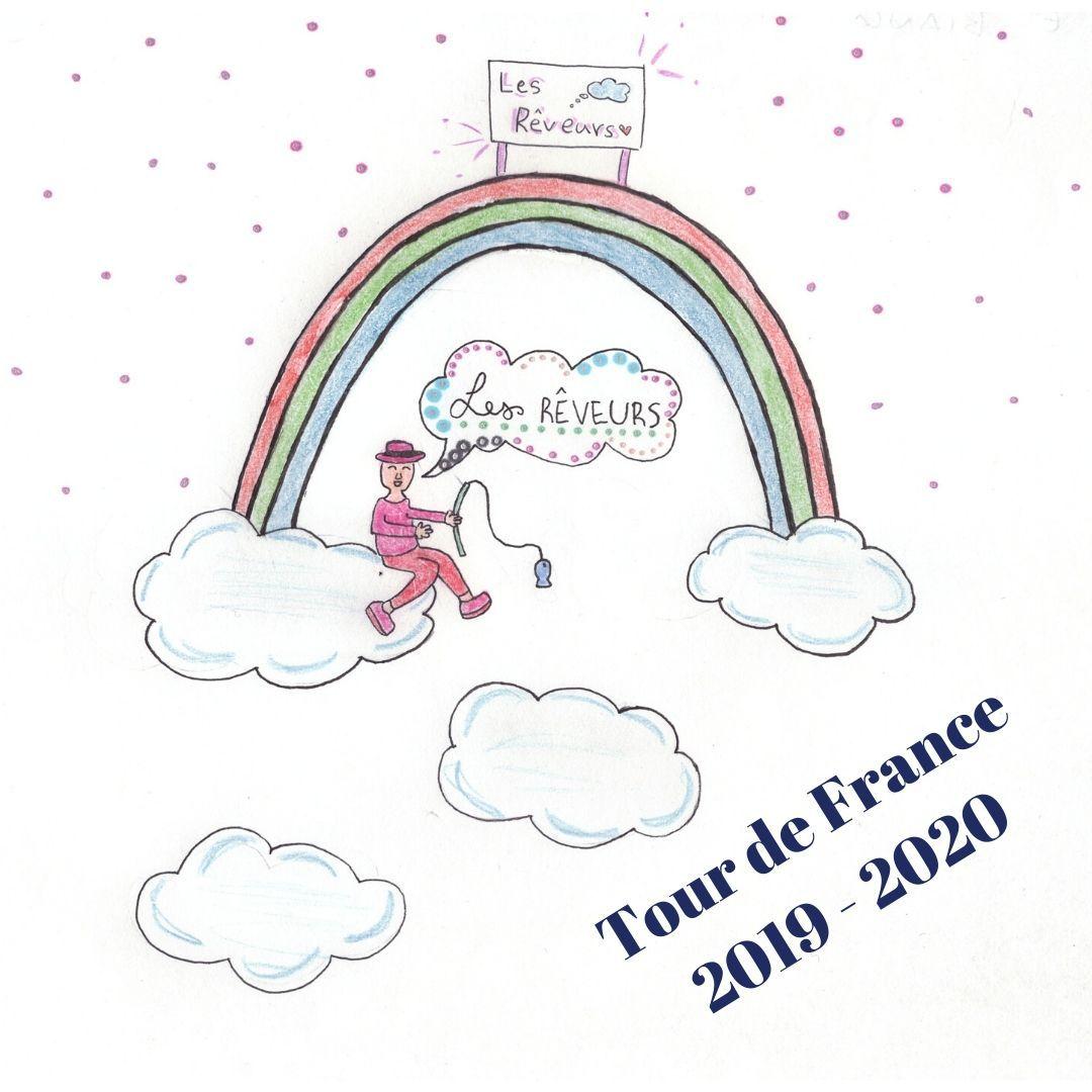 Les logos des équipes du Tour de France 2019 - 2020