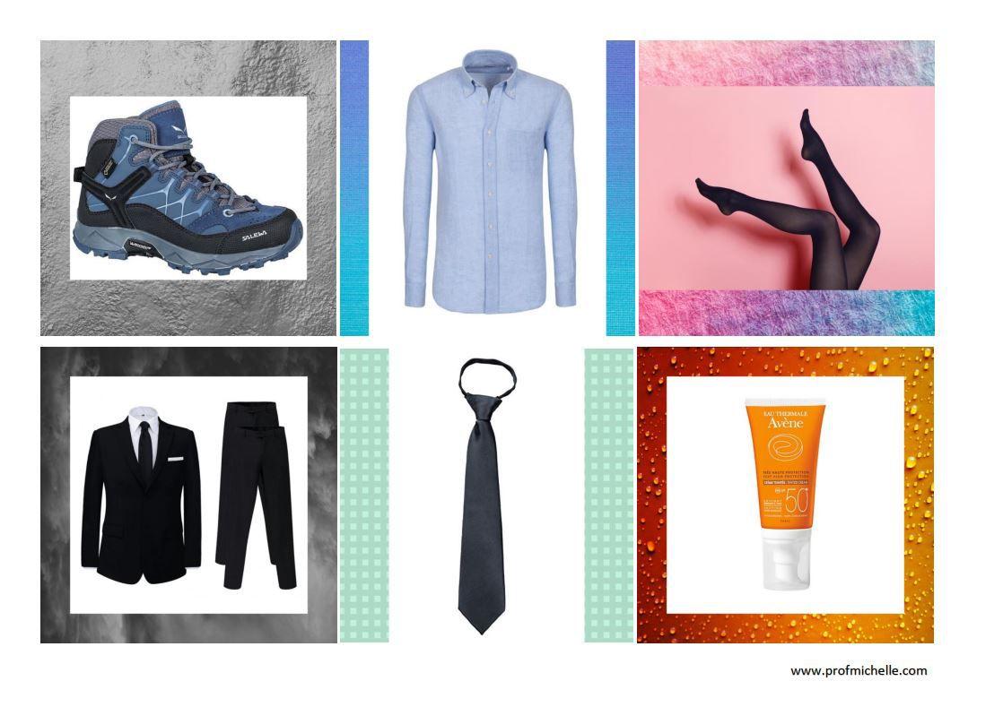 Accessoires et vêtements