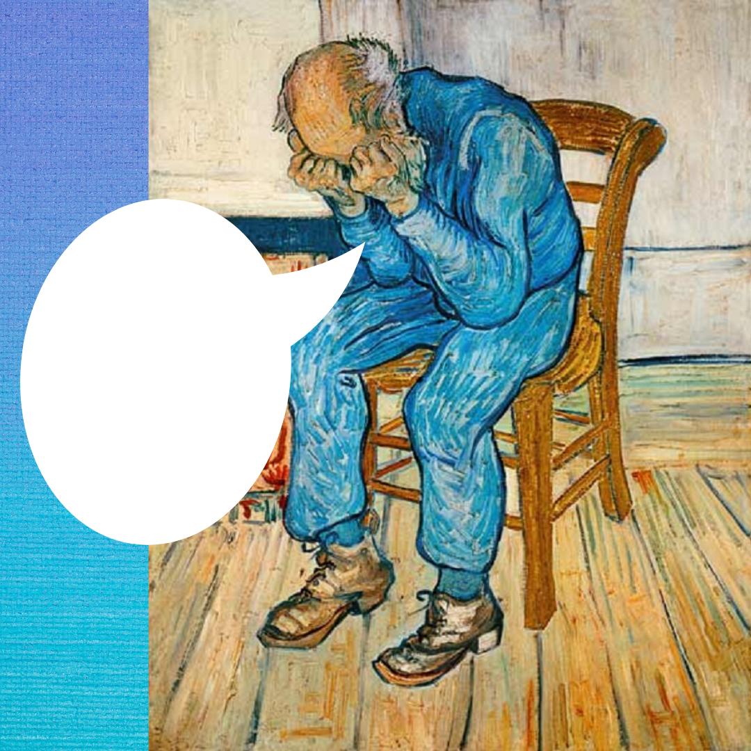 Van Gogh - Viellard triste