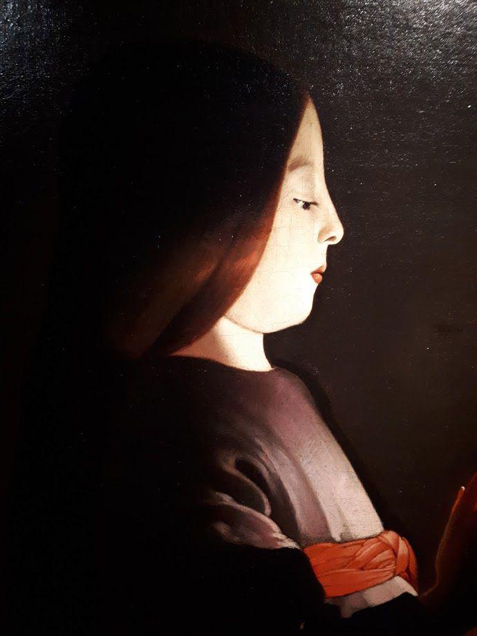 C'est un sujet très cher aux mères. Il avait l'avantage de réunir dans une seule image la dévotion à Marie et le culte de Sainte Anne.