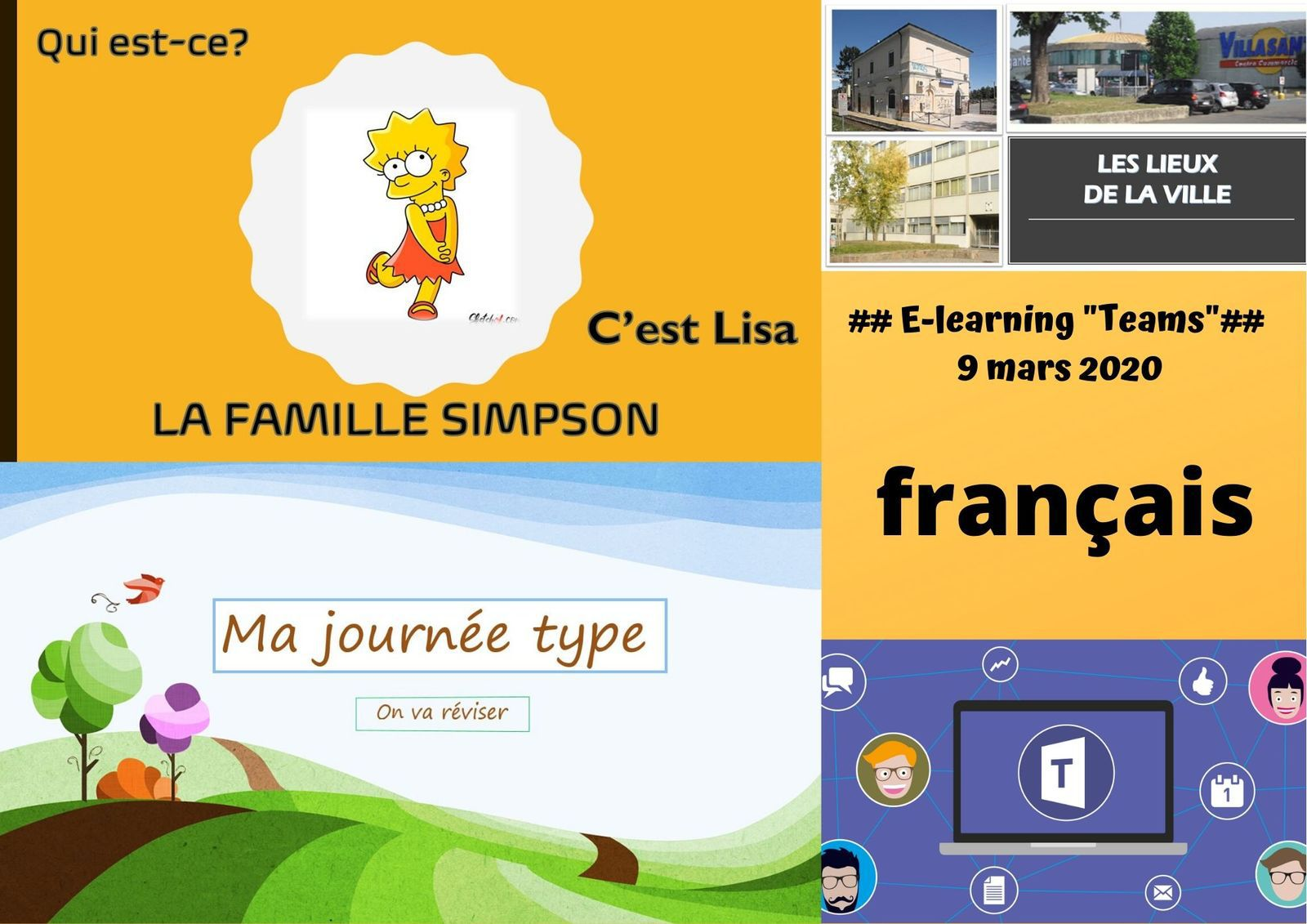 "## E-learning ""Teams"" - français"" ##"
