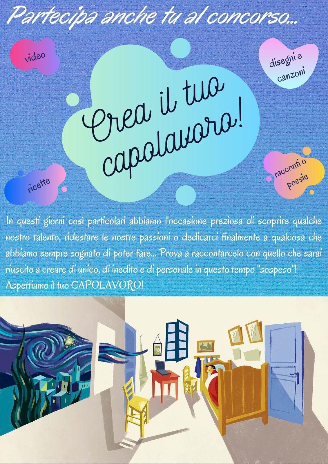 """## Concorso """"Crea il tuo capolavoro!"""" ##"""