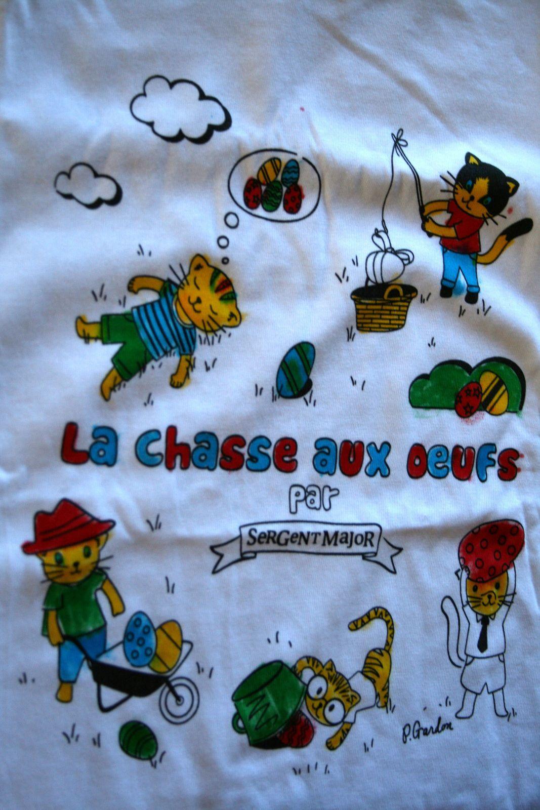 tee shirt de paques