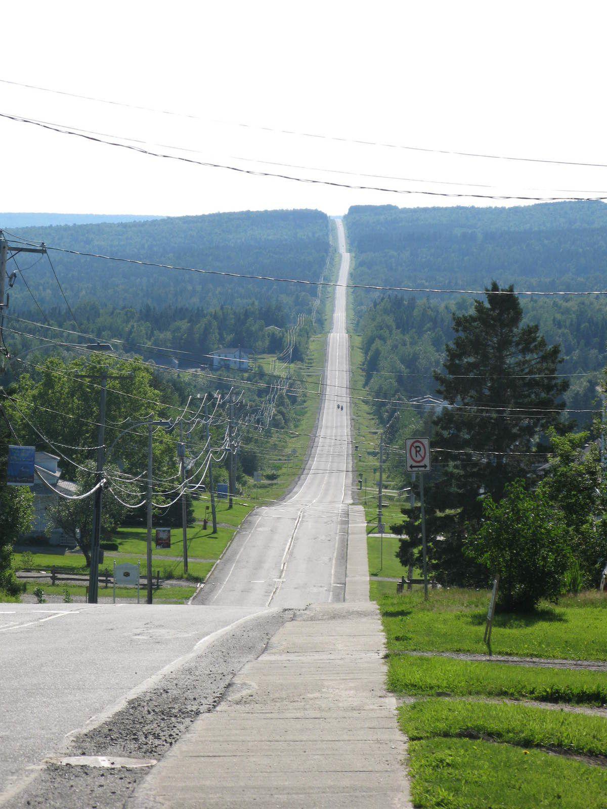 routes cantons de l'est