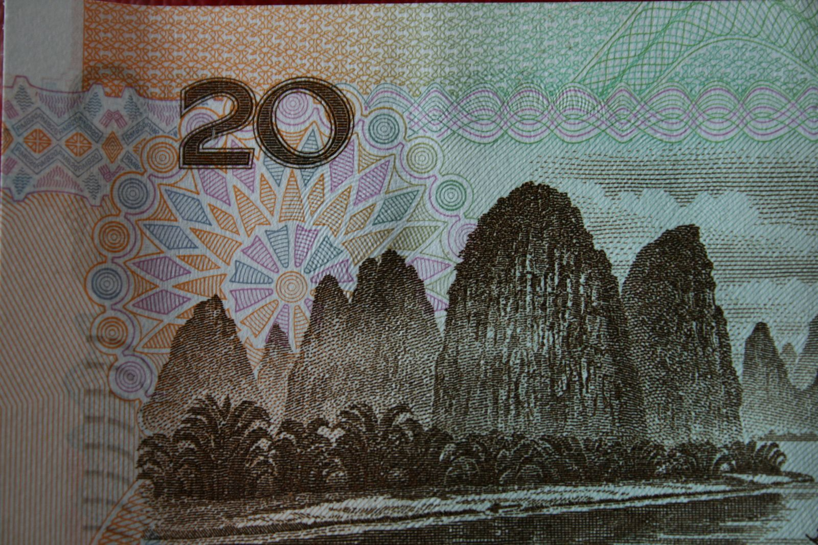 billet 20 yens