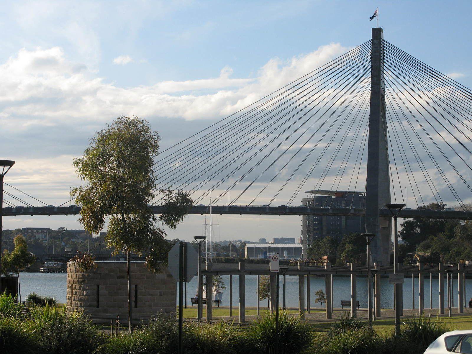 anzac bridge sydney australie