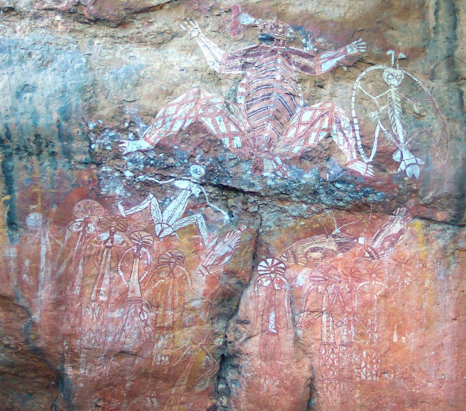 Ubirr Rock art peintures aborigenes australie