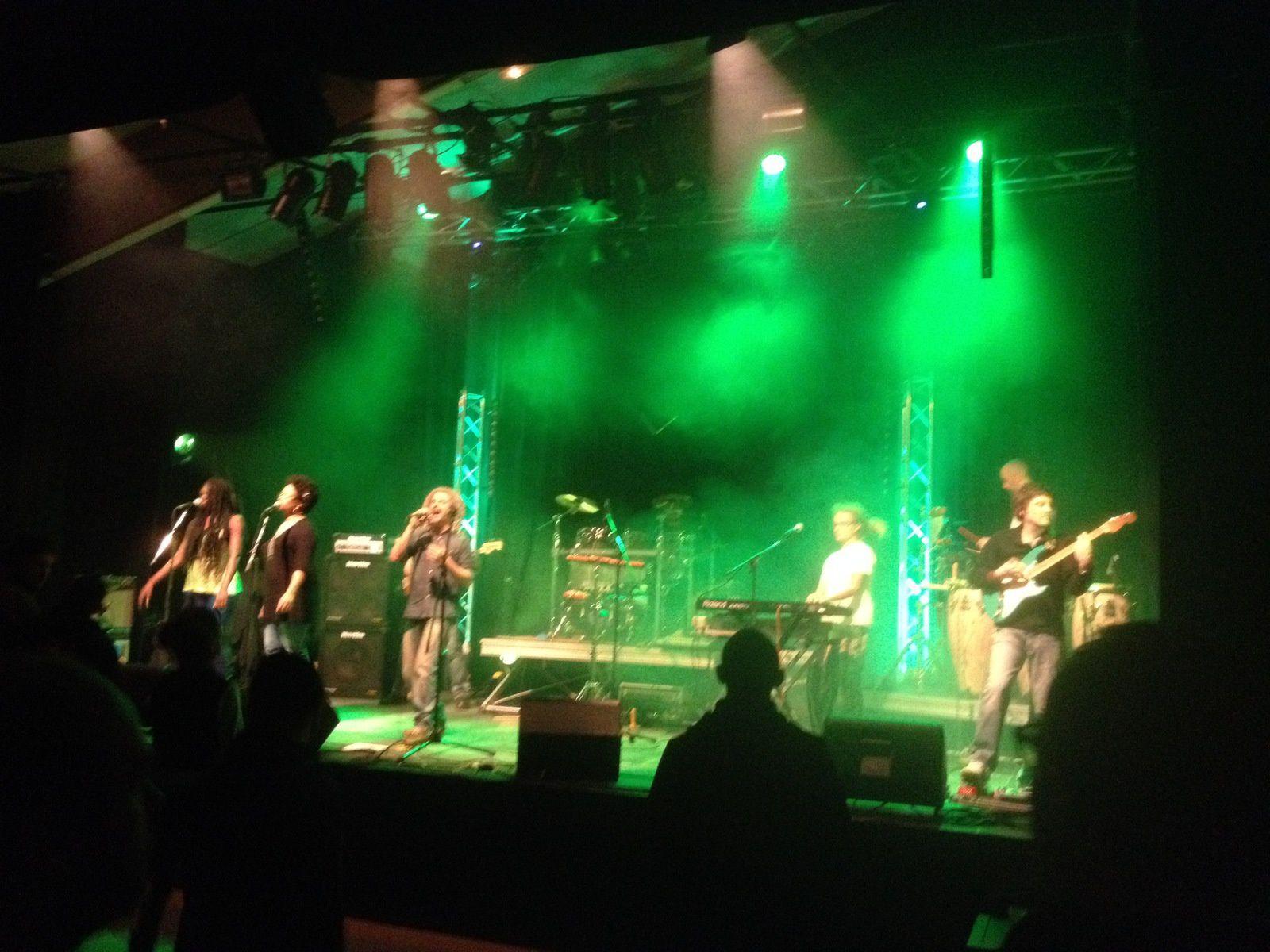 The Weeders + Roots Revival jamaicain  Covers  concert reggae egliseneuve-pres-billom