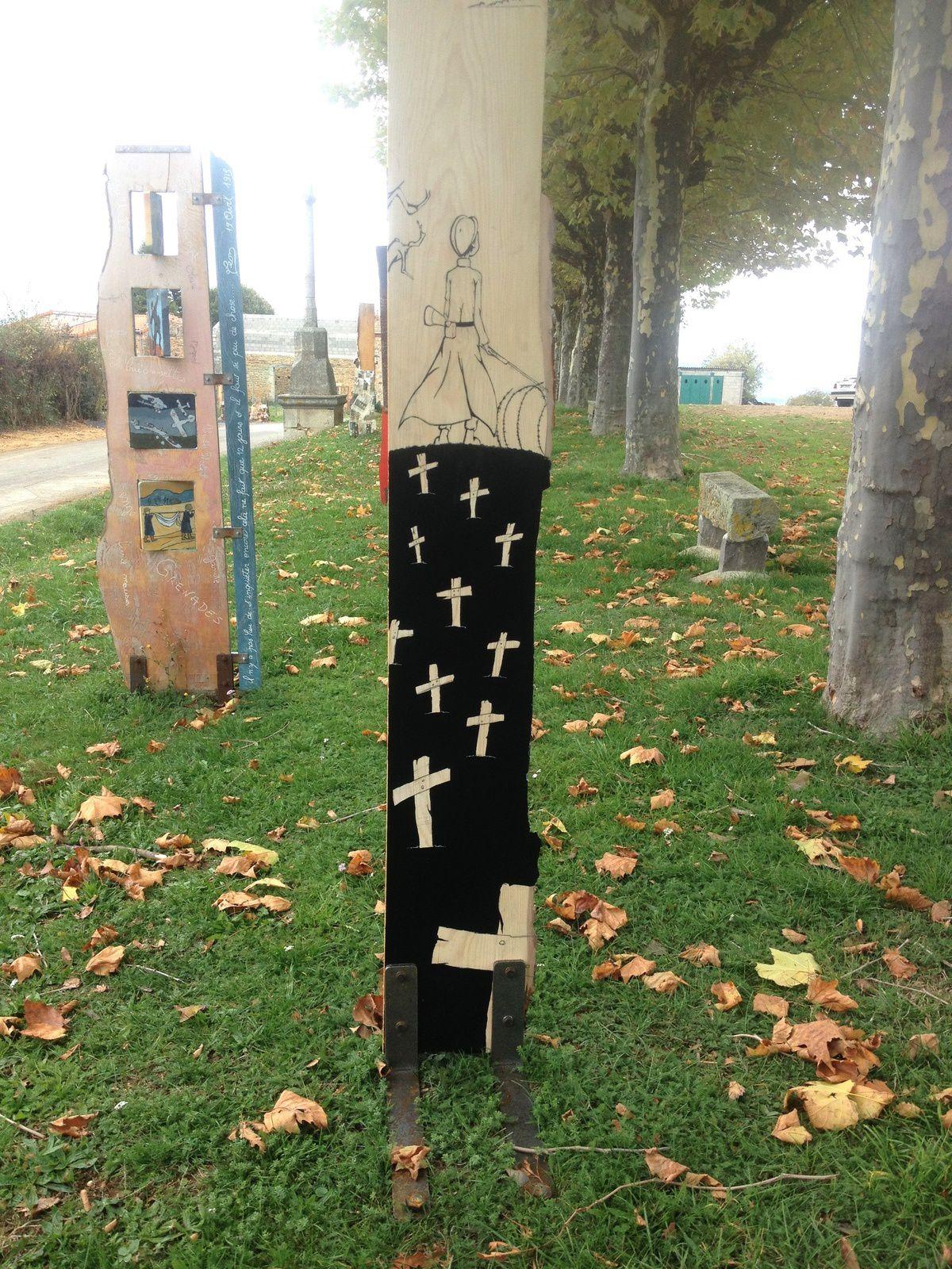 #expo #egliseneuve-pres -billom #guerre #14/18 #sentinelles #charlotteblabla blog