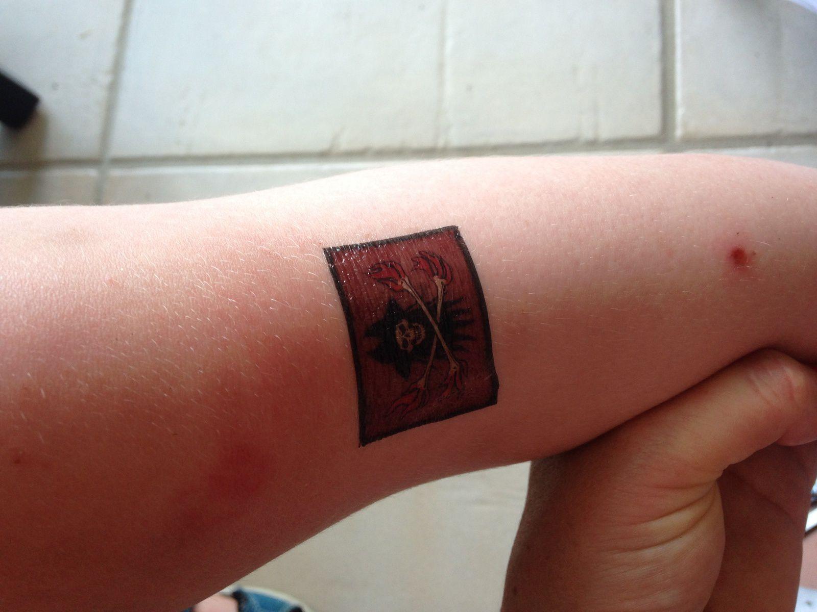 Salon de tatouage éphémère pour enfants