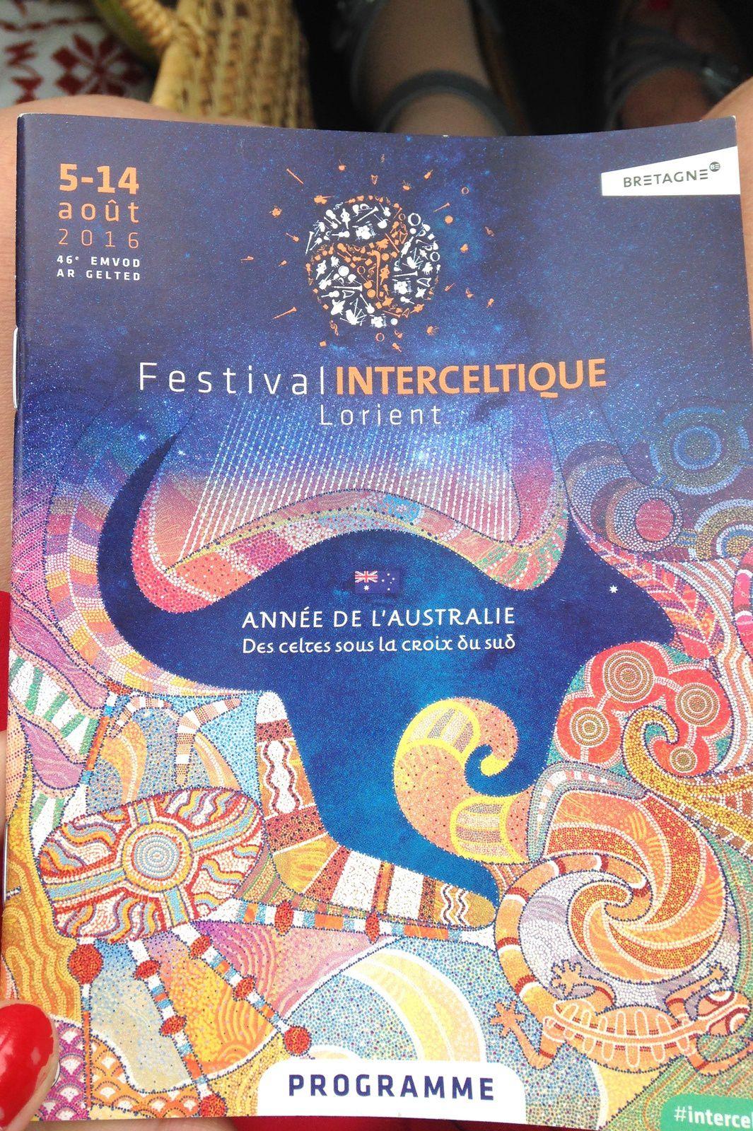 Le festival interceltique de Lorient 2016 est sur le thème de l'Australie cette année.