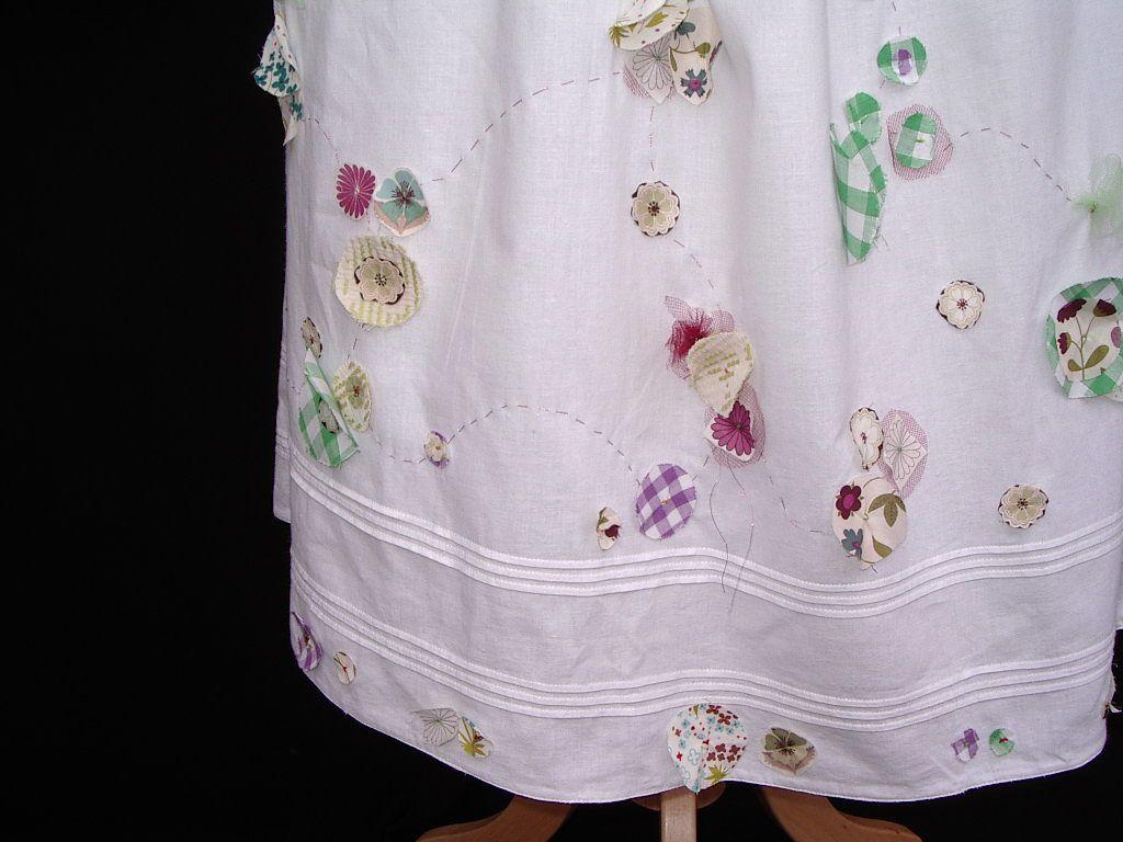 """customisation  vêtement """"Altheane"""" en partenariat avec l'atelier TMD, """"travail mode d'emploi""""  jupon  """"printemps""""-charlotteblabla blog*"""