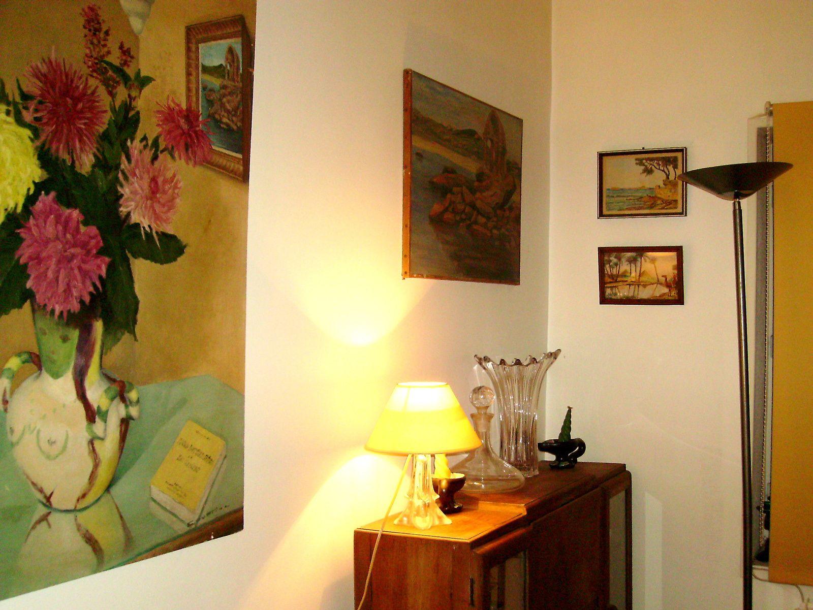 Jeu de tableaux, valauris? picasso? vase femme, sur charlotteblabla blog*