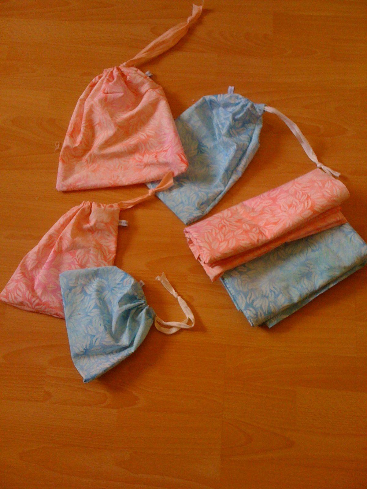pagnes de plage, serviette en tissu, avec sacs assortis, sur charlotteblabla blog*