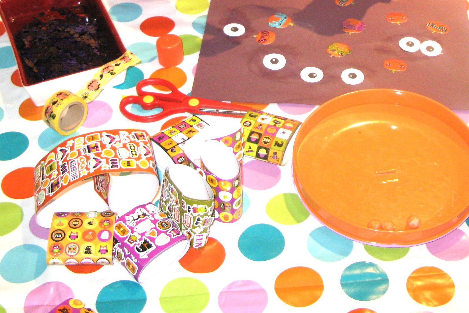 """Accessoires d'""""halloween pour #diy enfant sur #charlotteblabla blog*"""