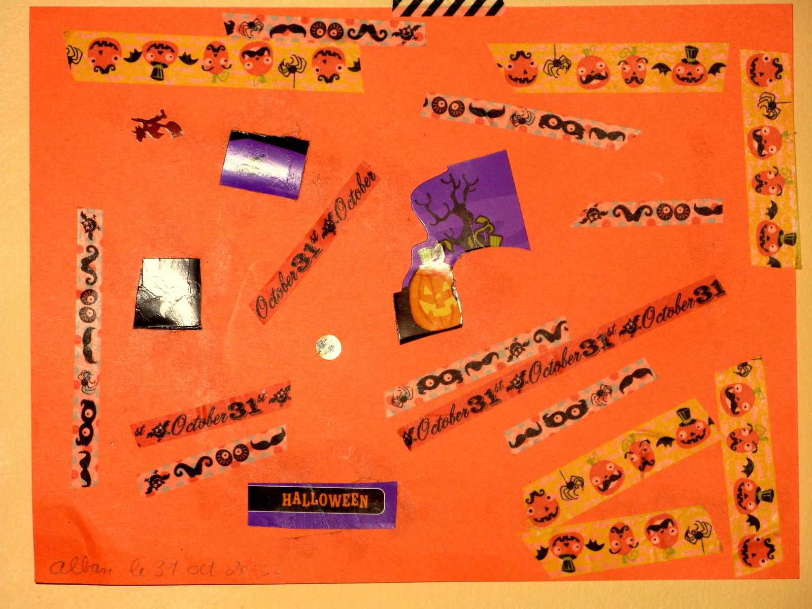 diy enfant dessins d'hallowenn sur charlotteblabla blog*