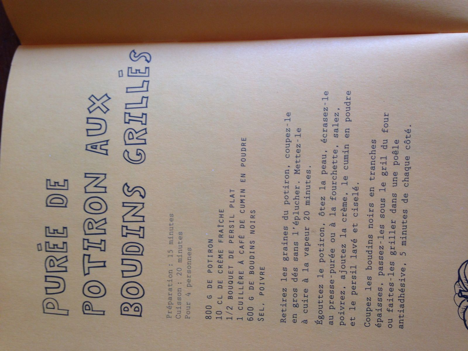 livre de recettes courges et citrouilles potiron sur charlotteblabla blog*