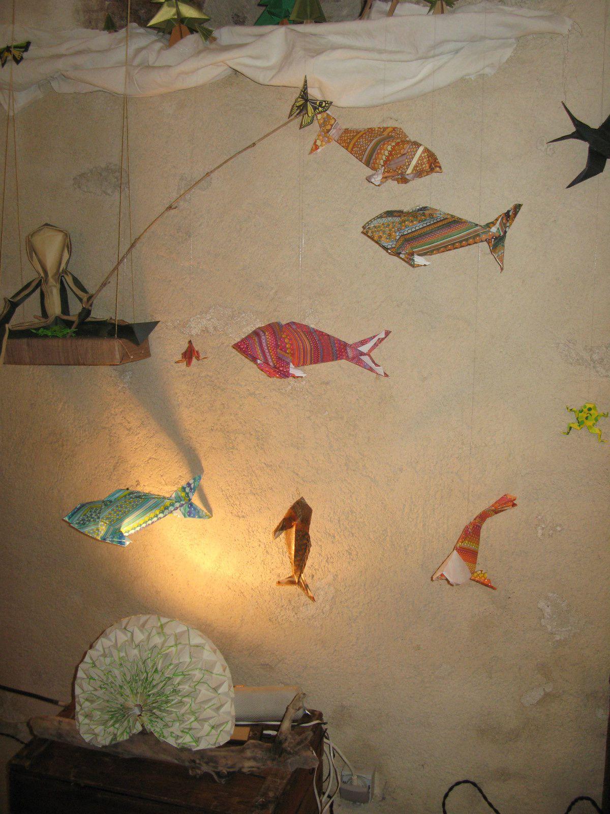 festival Pignols'arts- pliages -Alx couleur- sur charlotteblabla blog