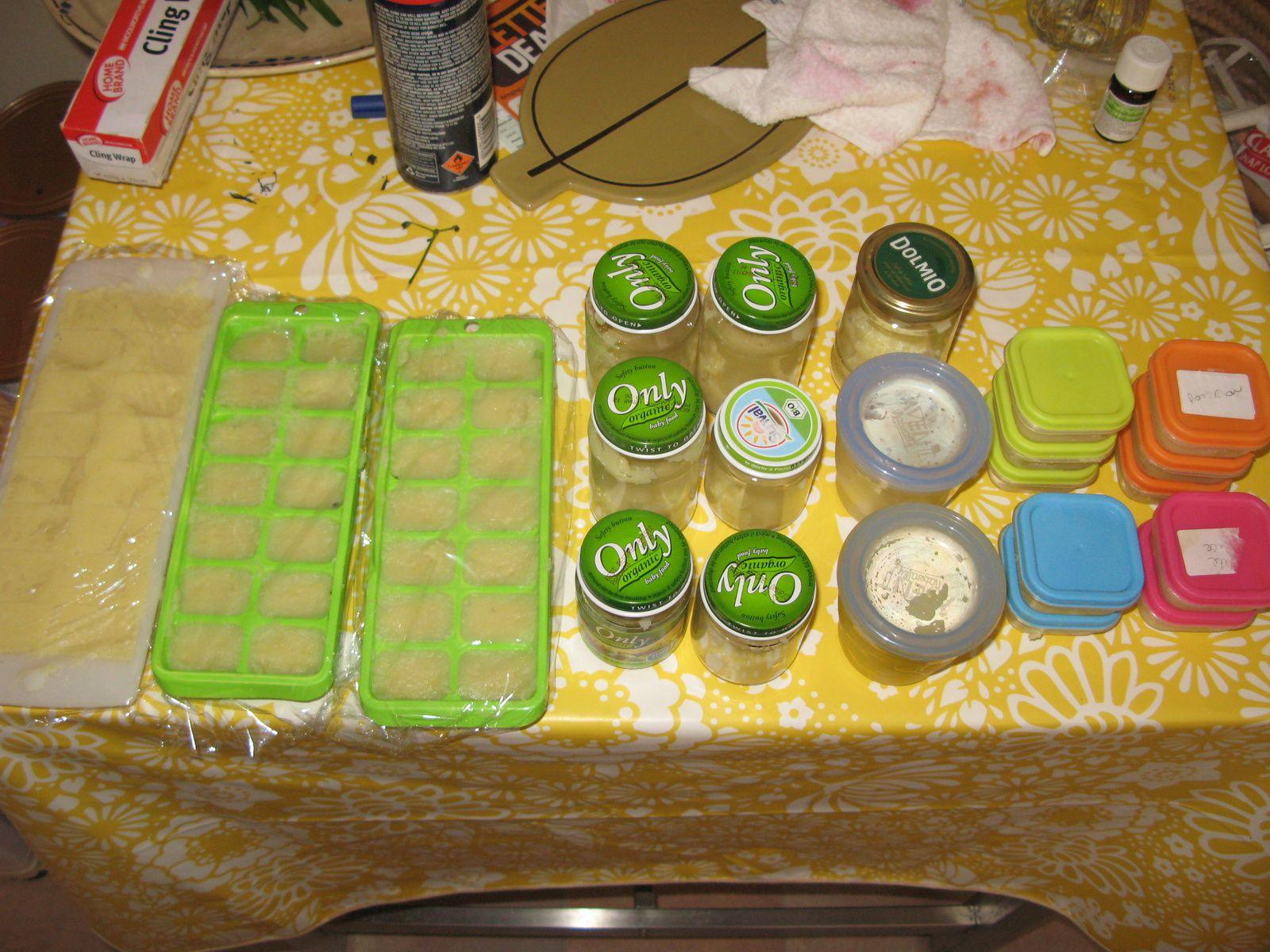 Les premiers repas solides de bébé sur charlotteblabla blog
