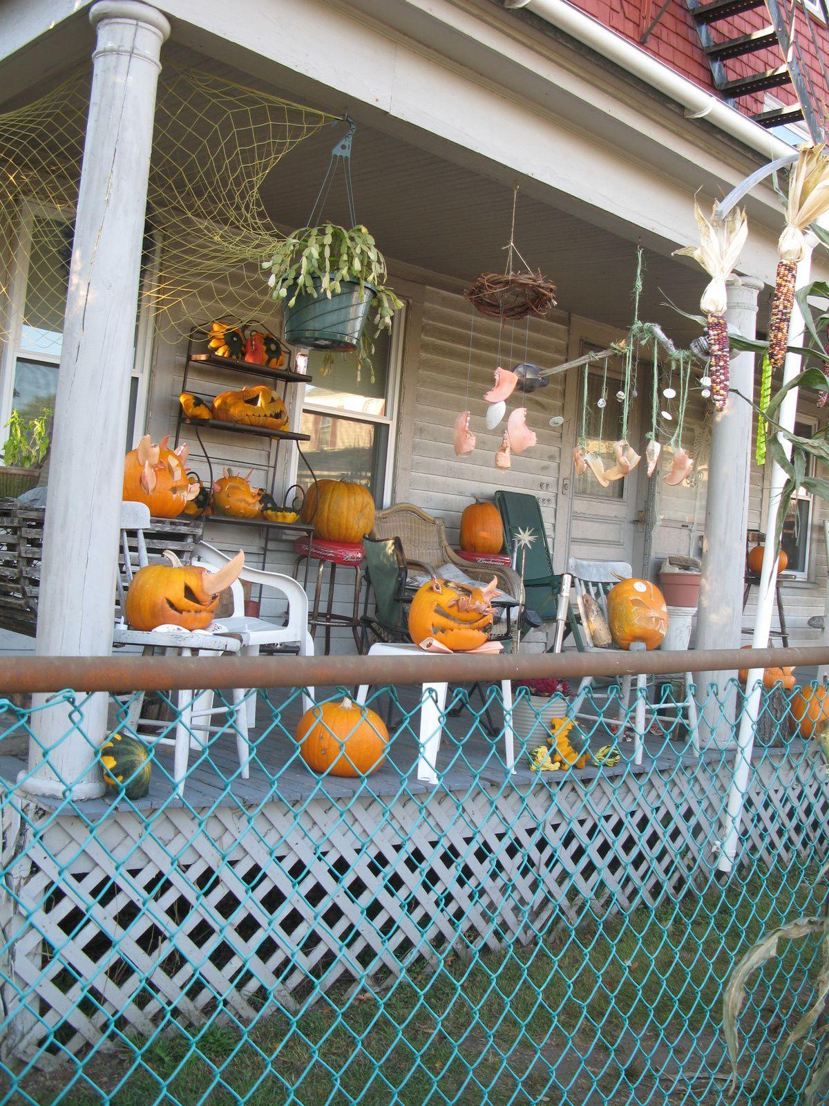 ambiance #halloween usa #maine sur #charlotteblabla blog*