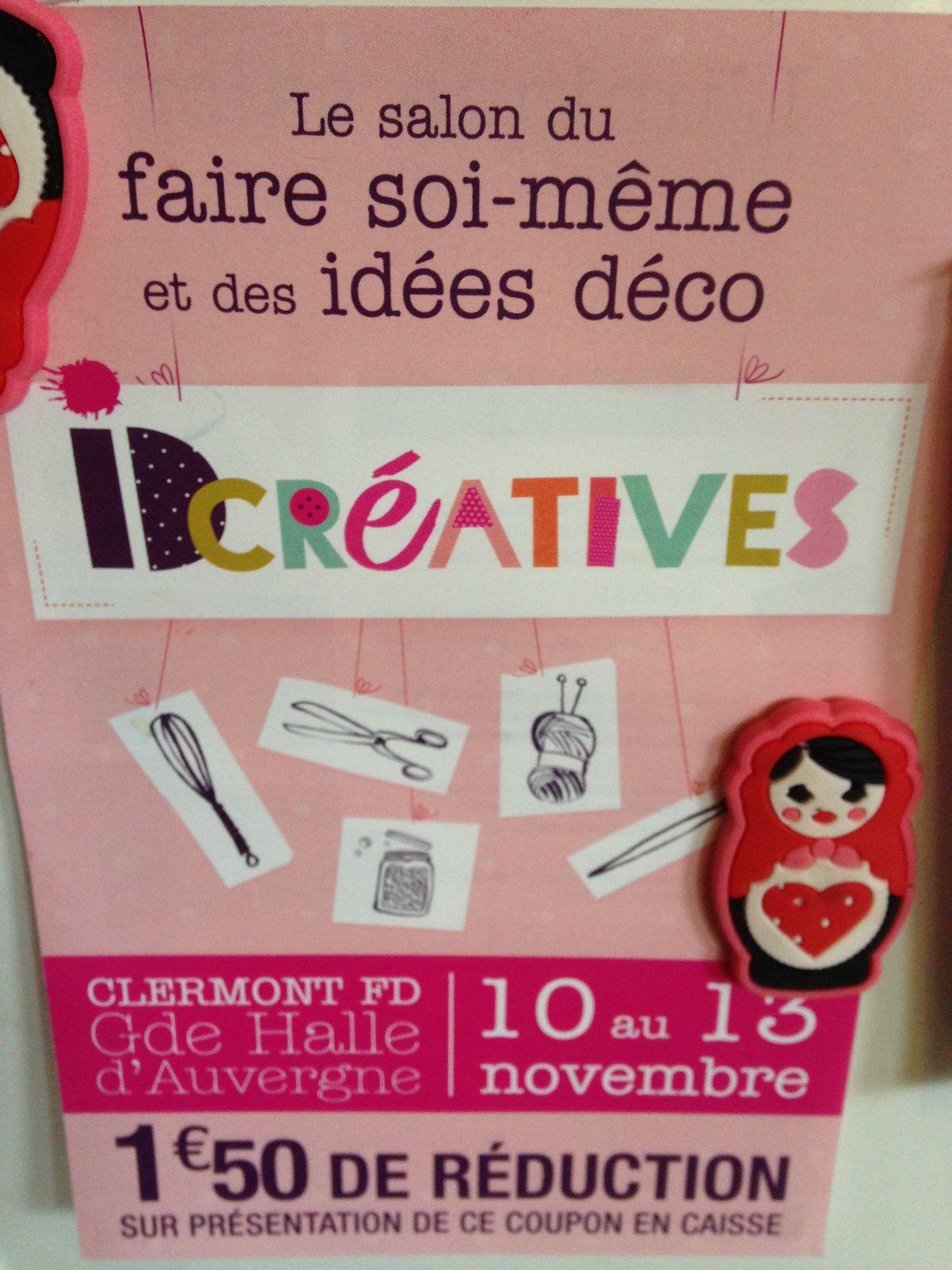 Salon ID creatives à Clermont Ferrand - CharlotteBlaBla: