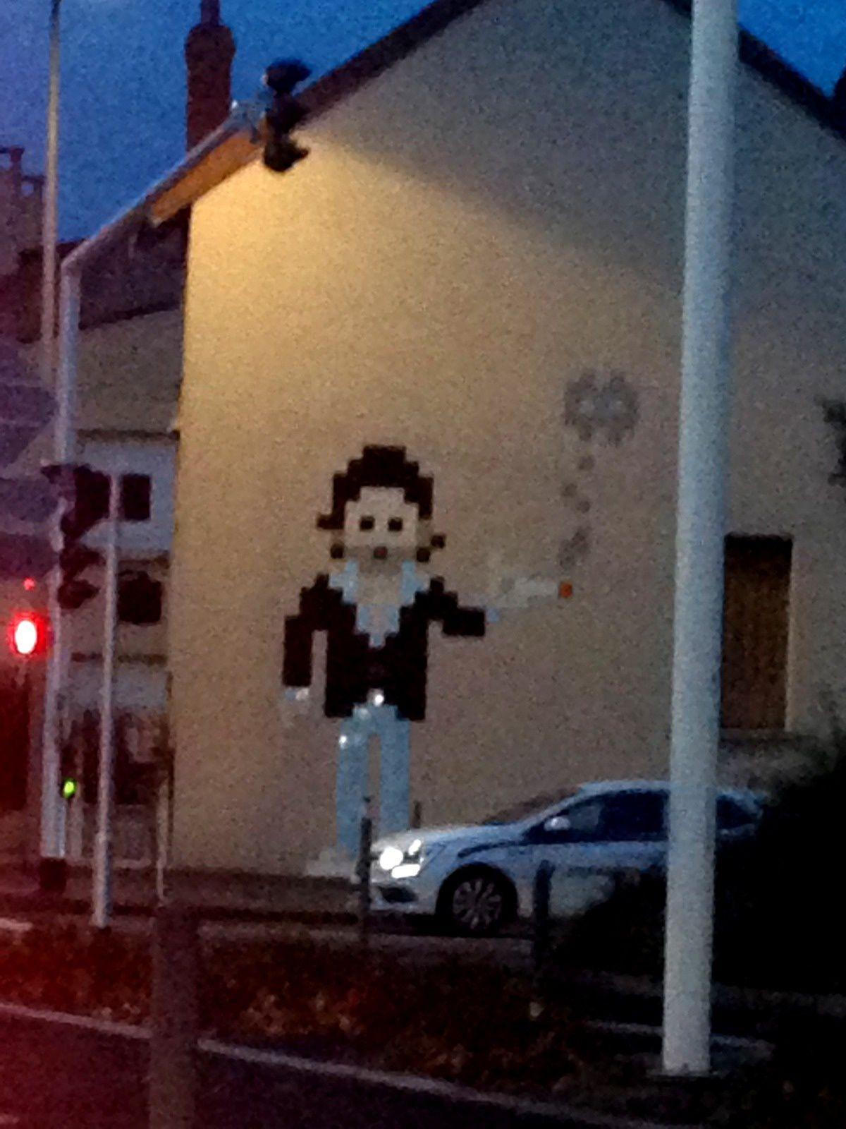 #Spaceinvaders #streetart #clermontferrand #charlotteblabla blog*