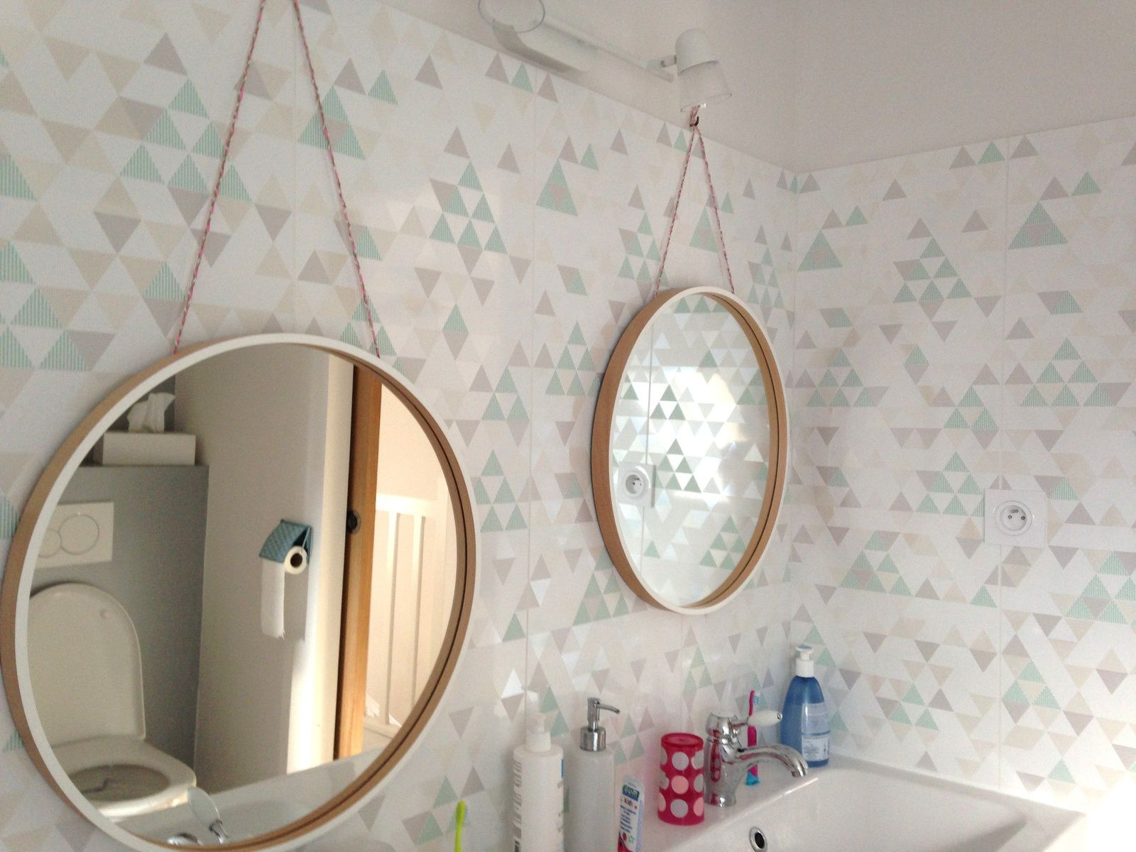 #maison #salledebain 3decoration #charlotteblabla blog*