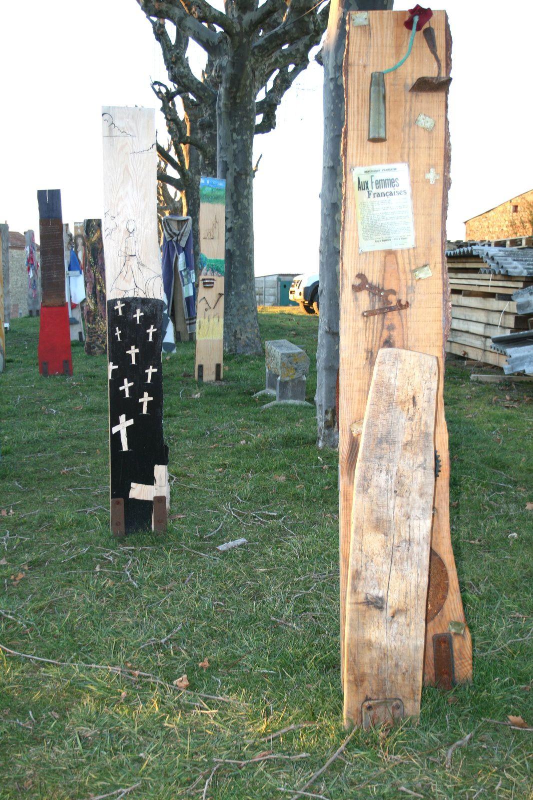 #sentinelles #14-18 mémoire de #guerre- #egliseneuveprèsBillom, Auvergne- France- art #charlotteblabla blog
