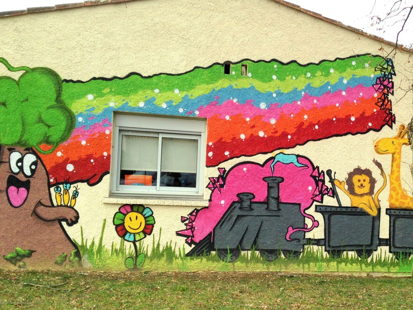 #graffiti #pibrac #charlotteblabla blog